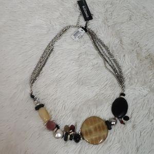Chico's Genuine stone Necklace